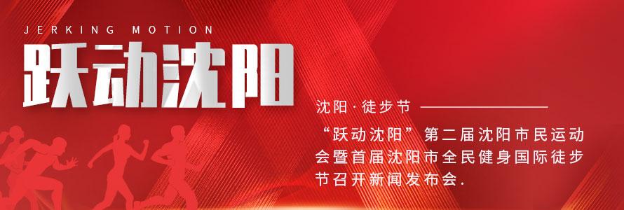 """""""跃动沈阳""""第二届沈阳市民运动会暨首届沈阳市全民健身国际徒步节召开新闻发布会"""